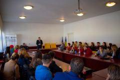 Vizită la Facultatea de Studii Europene