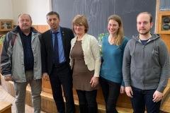O parte din participanții la întâlnirea cu membrii Facultății de Teologie Reformată